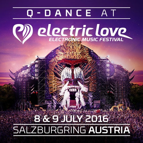 Q-DANCE @ ELECTRIC LOVE FESTIVAL