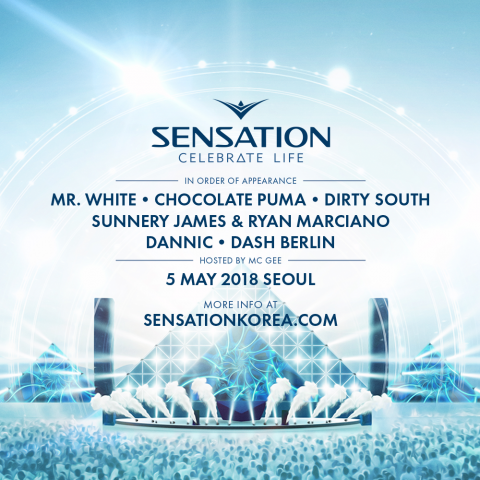 Sensation Celebrate Life, 05-05-2018 Seoul, Korea