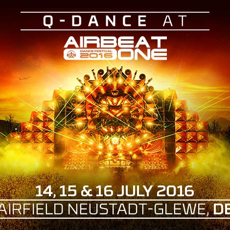 Q-DANCE @ AIRBEAT ONE FESTIVAL 2016